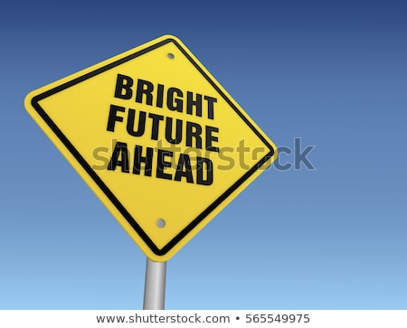 future ahead signpost stock photo © burakowski