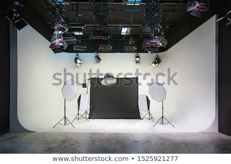 professional studio flashlight Stock photo © prill
