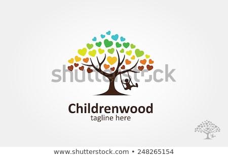Cuidado de los niños mano escrito marcador transparente Foto stock © ivelin