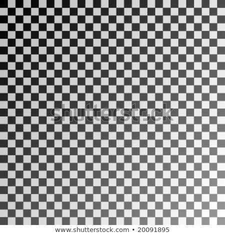 Seamless Black And White Checks Wallpaper Pattern With Shadow Ef Stok fotoğraf © Toponium