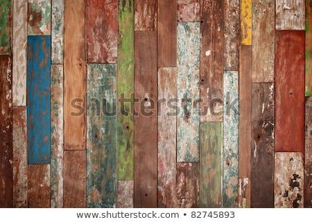 Amarillo color textura de madera mesa oscuro patrón Foto stock © art9858