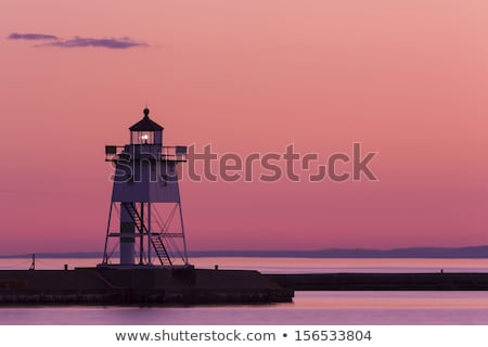 Grand Marais Lighthouse Stock photo © benkrut