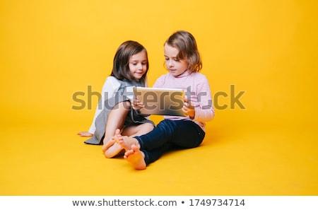 zorgeloos · kind · portret · gelukkig · weinig · jongen - stockfoto © klinker