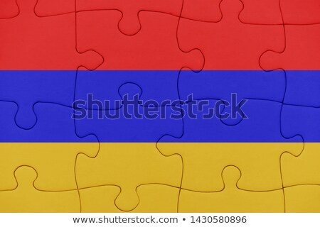 European Union and Armenia Flags in puzzle  Stock photo © Istanbul2009
