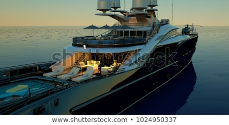 Stock photo: Summertime yachting