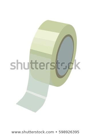 ruban · adhésif · blanche · isolé - photo stock © daboost