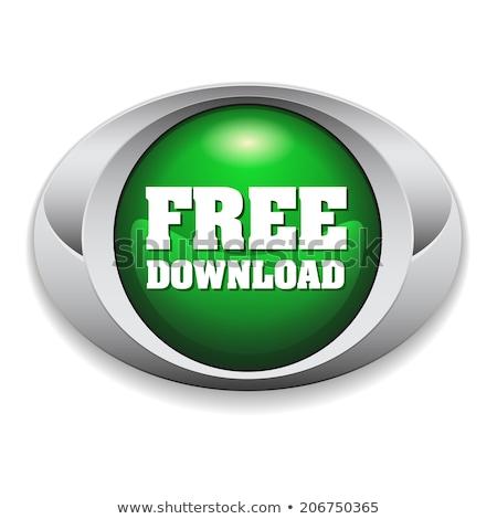 Libre téléchargement vert vecteur icône design Photo stock © rizwanali3d