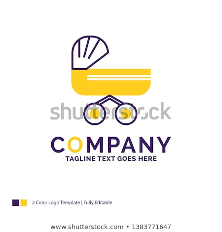 Stock photo: Trolly Yellow Vector Icon Design