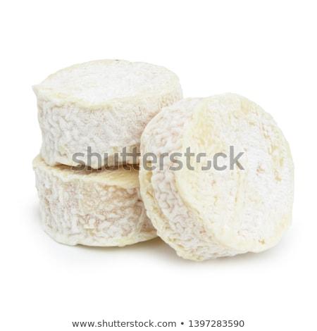 gesneden · bladeren · kaas · plaat · snack - stockfoto © Digifoodstock