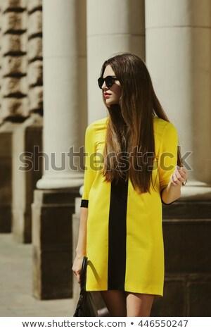 少女 肖像 現代の ドレス 着用 ストックフォト © Giulio_Fornasar