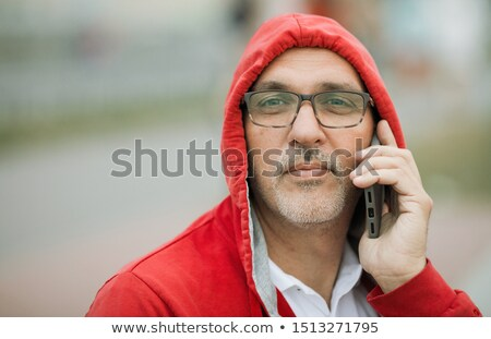 Business man sitting by seafront Stock photo © IS2