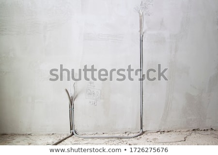 Unfinished electrical cables Stock photo © IS2