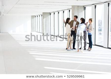 Businessman in an empty office Stock photo © IS2