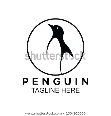 mascot penguins border stock photo © lenm