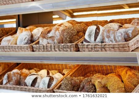 Exibir contrariar supermercado comida Foto stock © wavebreak_media