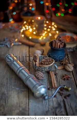 Świeca dar christmas czasu obecnej Zdjęcia stock © wavebreak_media