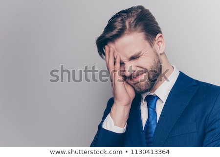 businessman shame face palm stock photo © studiostoks