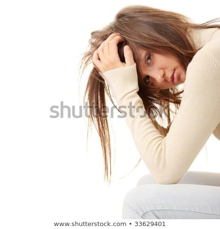 öngyilkosság · depresszió · figyelmeztetés · feliratok · reménytelenség · szellemi - stock fotó © lightsource