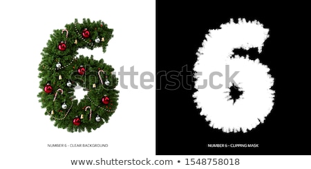 zaman · noel · ağacı · yalıtılmış · beyaz · ağaç · hediye - stok fotoğraf © grafvision