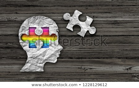 Inside Autism Stock photo © Lightsource