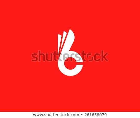 Konijn logo vector ontwerp symbool icon Stockfoto © blaskorizov