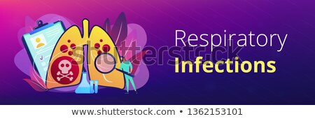Lower respiratory infections concept banner header. Stock photo © RAStudio