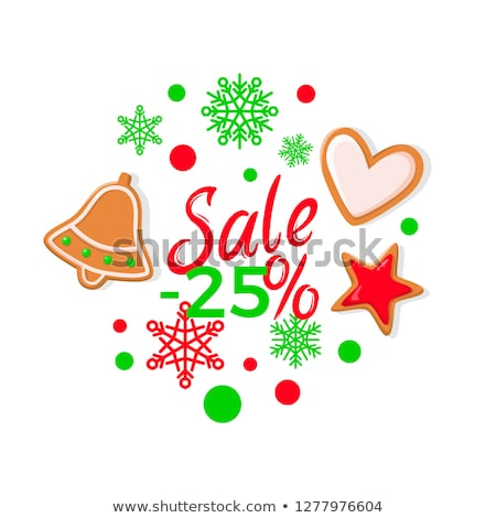 navidad · cookie · texto · gradiente · fondo - foto stock © robuart