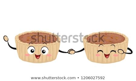 Essen Kanada Butter Torte Illustration Gebäck Stock foto © lenm