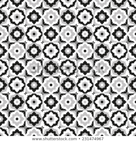 Quatrefoil classic seamless vector pattern. stock photo © yopixart