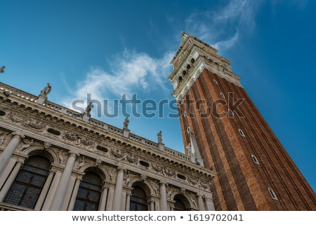 st marks campanile bell tower in venice italy stock photo © boggy