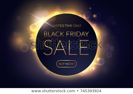 Gyönyörű black friday vásár bokeh terv bolt Stock fotó © SArts