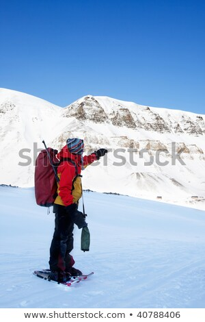 guided snowshoe tours Stock photo © adrenalina