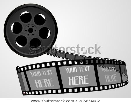 filmszalag · videókamera · szín · vektor · retro · film - stock fotó © pikepicture