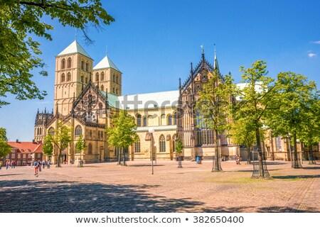 Town Hall Tower, Munster, Germany Stock photo © borisb17
