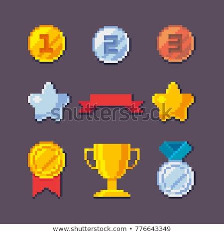 Trofeum zwycięstwo sztuki gry Zdjęcia stock © robuart