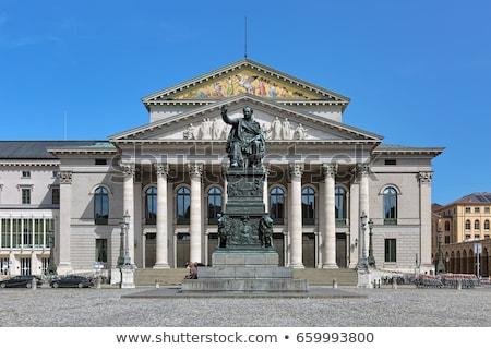 ópera Munich Alemania empresa cielo arte Foto stock © borisb17
