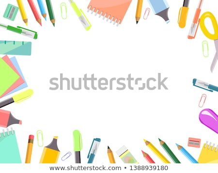 back to school frame education concept stock photo © carenas1