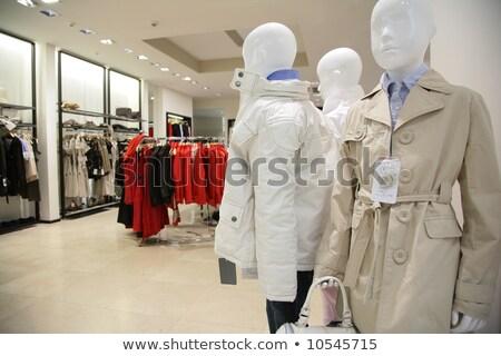 ruházat · bolt · pénz · terv · vásárlás · belső - stock fotó © paha_l