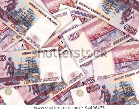 Background of money pile 500 russian rouble Stock photo © boroda