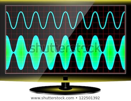 sinusiodal waveform Stock photo © photohome
