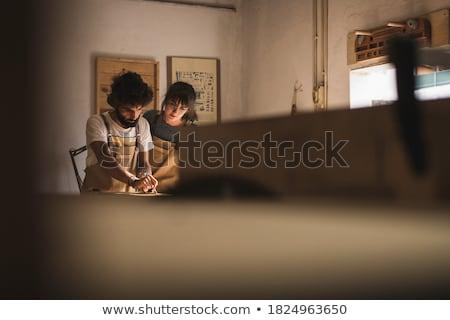 madeira · popular · arte · trabalhador · humanismo · decoração - foto stock © photography33