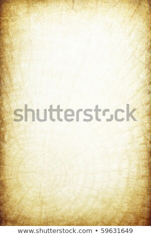 Vintage paper with wood rings pattern Stock photo © pashabo