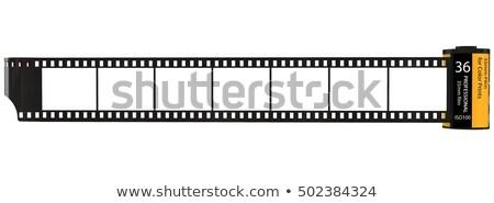 Közelkép fotó film zsemle fehér fotózás Stock fotó © grasycho