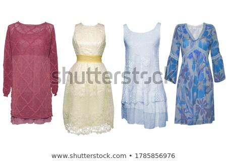 lace dress #3 Stock photo © dolgachov