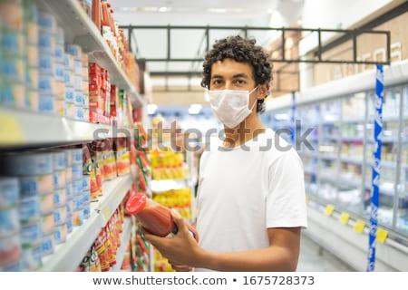 wściekły · człowiek · biznesu · dynamiczny · widoku · biznesmen - zdjęcia stock © forgiss