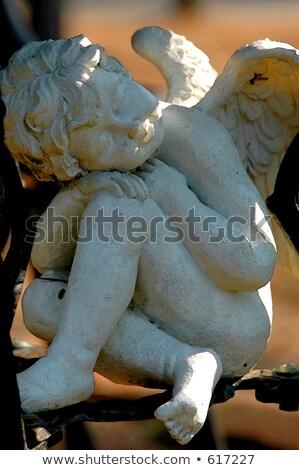 同情 悪魔 肖像 深い 考え 3dのレンダリング ストックフォト © AlienCat