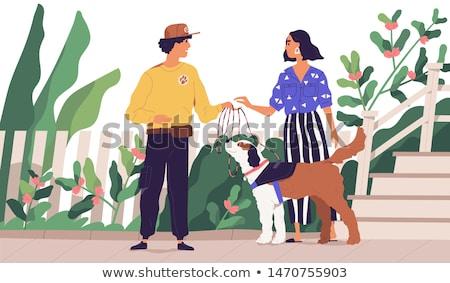 örnek · köpek · işçi · çalışma · bitki · araçları - stok fotoğraf © karelin721