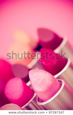 Pink lips. Shallow depth of field. Stock photo © moses