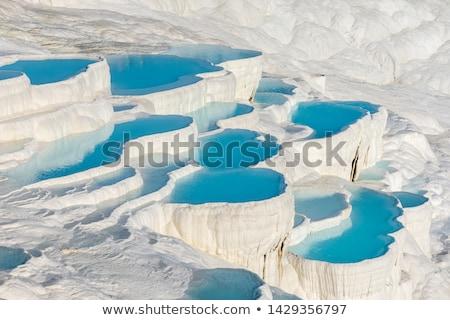 zwembad · Turkije · natuurlijke · fenomeen · water · schoonheid - stockfoto © tony4urban