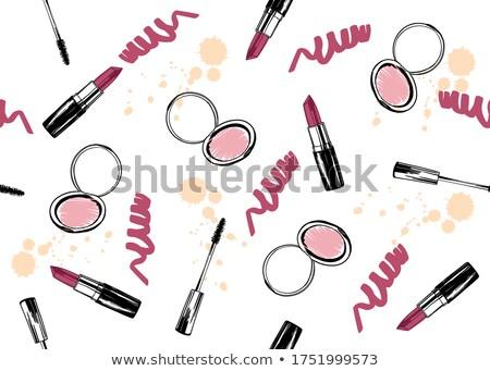 Rossetto compatto cosmetici icona Foto d'archivio © zzve